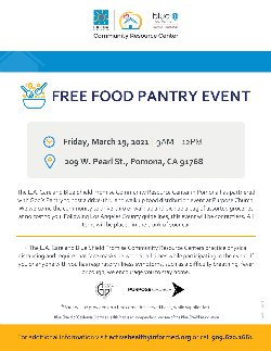 Free Food Pantry Event